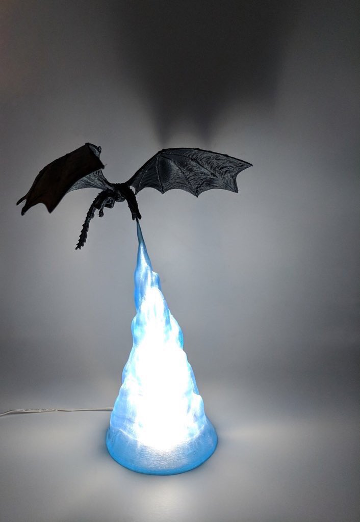 OMG  First of it's kind. Every #GameOfThrones fan should have this at home   It's a rare fire breathing Dragon Lamp. A Perfect gift for that GOT lover you know.   Hurry and go get yours here before it's sold out   http:// bit.ly/2VziBUz  &nbsp;  <br>http://pic.twitter.com/hzt0UEYs8T