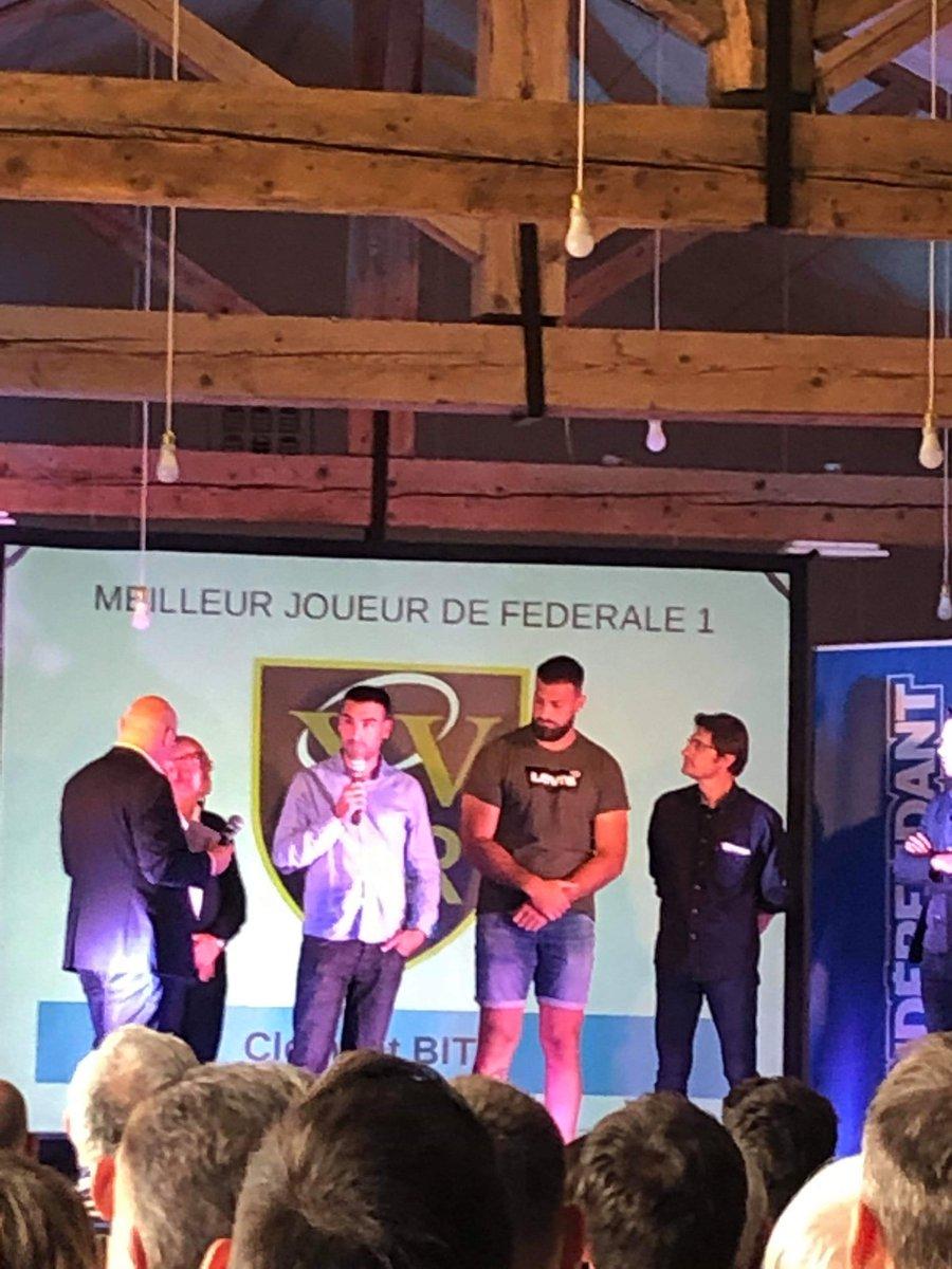 #XVDOR | MEILLEUR JOUEUR 🥇  Félicitations à Clément BITZ élu meilleur joueur de...