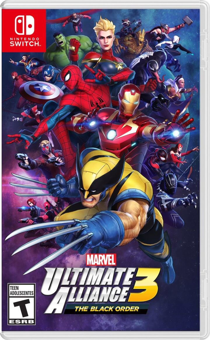 Marvel Ultimate Alliance 3: The Black Order on Nintendo Switch, with anew video on Paul Gale Network.