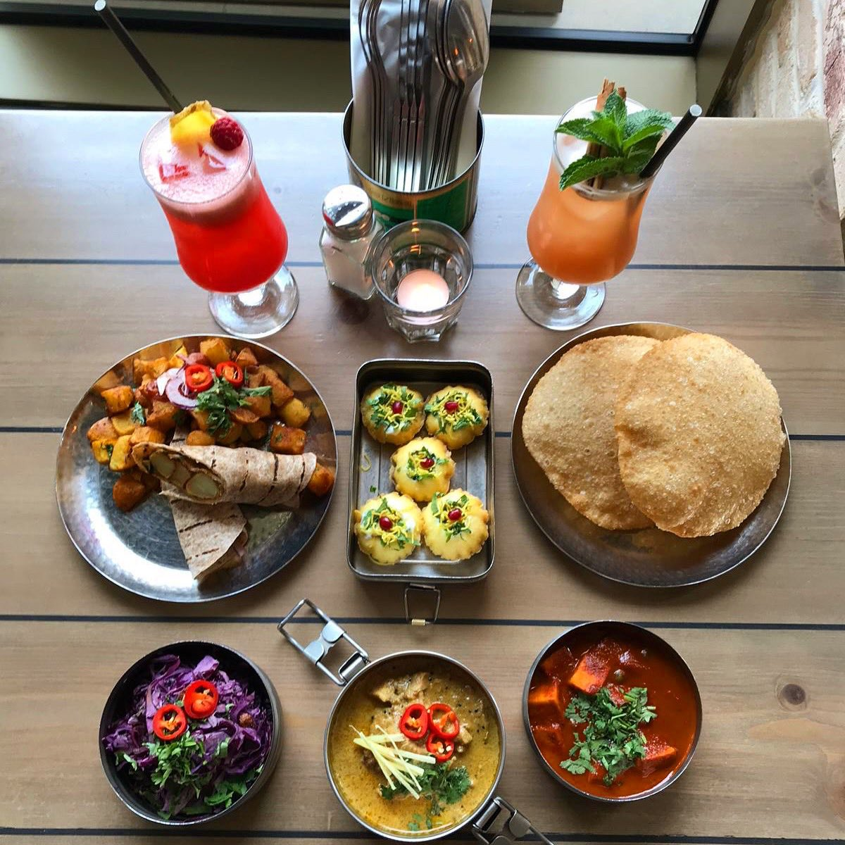 Iconically @Mowglistfood Every day is cooked freshly every morning in the restaurants at 7 am. If you walk past, it smells like my mum's house. For which I apologise. But then kind of don't ❤️