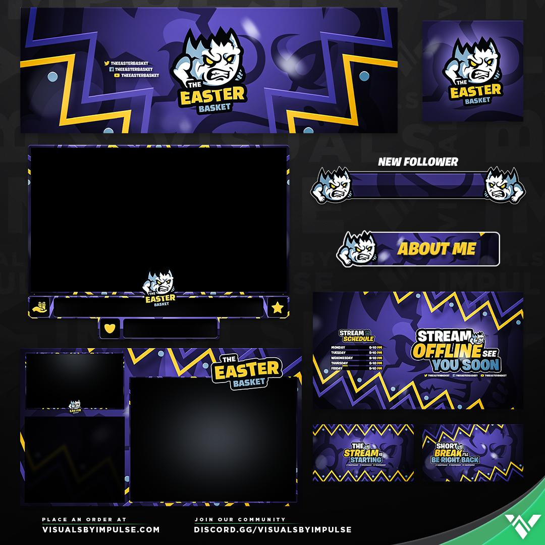 Custom stream package for a @VBI client Sharing is appreciated.   Interested in custom branding for your channel? Hit us up at (link:  http:// vbi.design/custom-design  &nbsp;  )  http:// vbi.design/custom-design  &nbsp;  <br>http://pic.twitter.com/3nuxvb47Y6