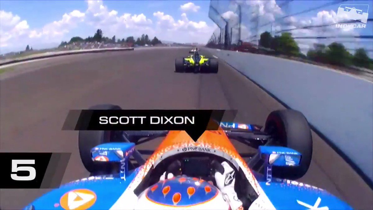 Youve had a long week. There are still 3 days until we race at @IMS. Here are 5 thrilling passes from the 2018 #Indy500 to get you through. Dont say we never did anything nice. #INDYCAR // #ThisIsMay