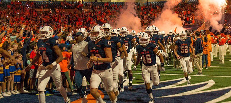 #BirdsUp! @UTSAAthletics today announced future home football games against Grambling State in 2020, Texas Southern in 2022 and Houston Baptist in 2024 🏈 P.S. @UTSAFTBL kicks off their 9th season in exactly 100 days! Whos excited? 🙋🏽♂️🤙🏽 bit.ly/2M5dYlr #UTSA