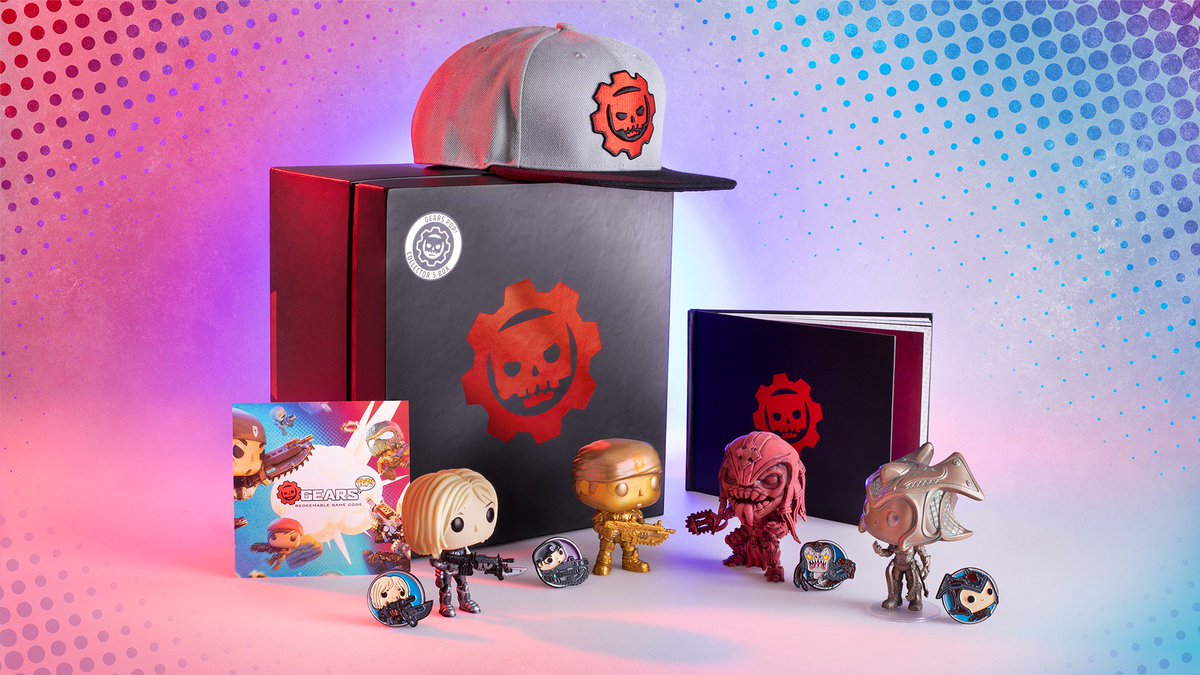 Make room in your horde for the @originalfunko Limited Gears POP! Collector's Box.Available exclusively at GameStop: https://xbx.lv/2wdYroR