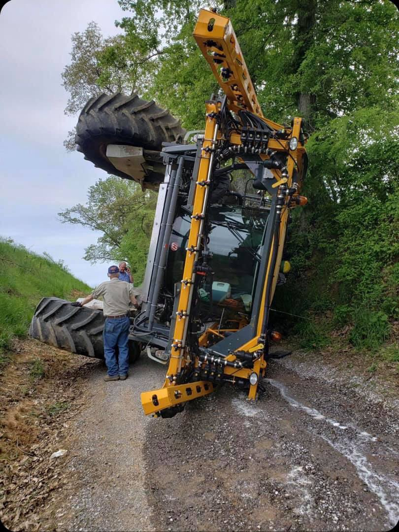 This spring is unreal...one of the guys called me and said he had issues, well.....AGAIN, it doesn't pay to be in a hurry!!!! This happened 5 miles southeast of Pana, IL this afternoon. The Machine had only 27 hours on it!!!!! #plant19 @FarmJournal @FarmFutures @MachineryPete<br>http://pic.twitter.com/BrJx3pjMJp