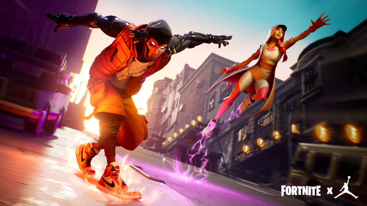 Myself and @DomTheBombYT are giving away 2 Hang Time Bundles in Fortnite to celebrate the Fortnite X Jordan Promotion! Rules to Enter: (Must Follow) 1. Retweet and Like this tweet 2. Follow both of us on Twitter The 2 Winners will be picked tomorrow 5/24 at 5:30 PM EST GOOD LUCK! <br>http://pic.twitter.com/7sPmGSRqJo