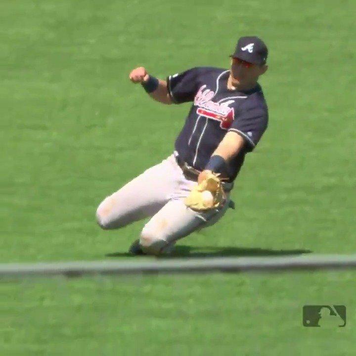 Not just a hot bat.(MLB x @ScottsLawnCare)