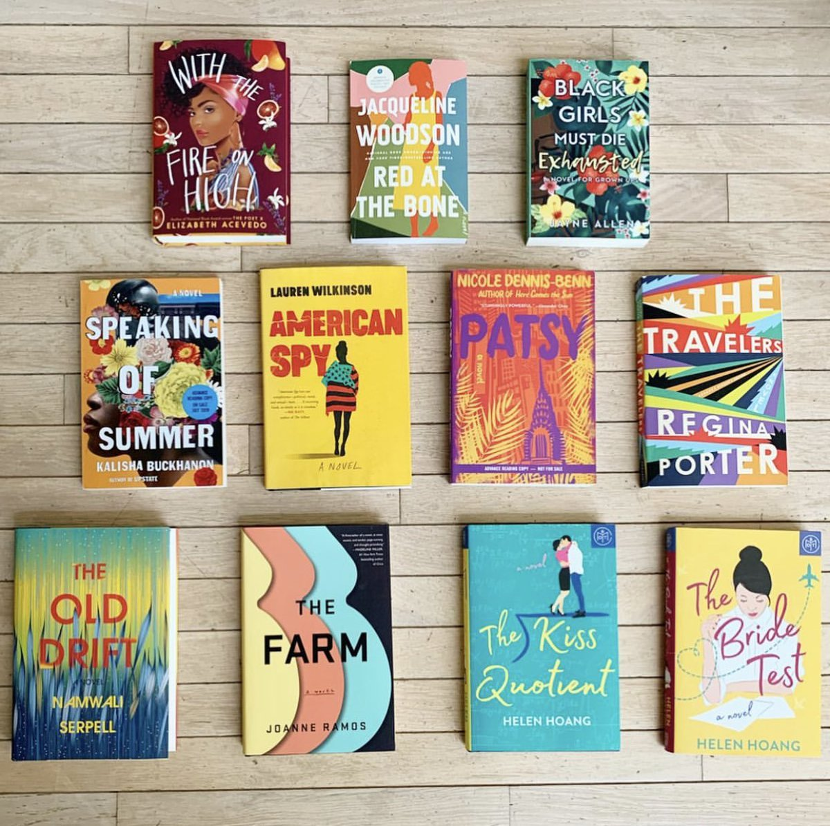 Happy #fridayeve!  This weekend officially kicks off the summer season  I couldn&#39;t be more happier.  These are the #diversespines I plan to read this summer &amp; I have plenty of rosé stocked to help me along the way! ⁣⁣ ⁣#spinesvines #books #wine #summer #reading<br>http://pic.twitter.com/TqYId8sVZx
