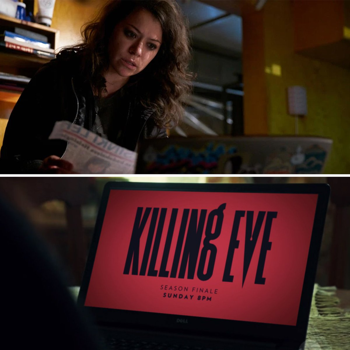 Orphan Black's photo on #KillingEve