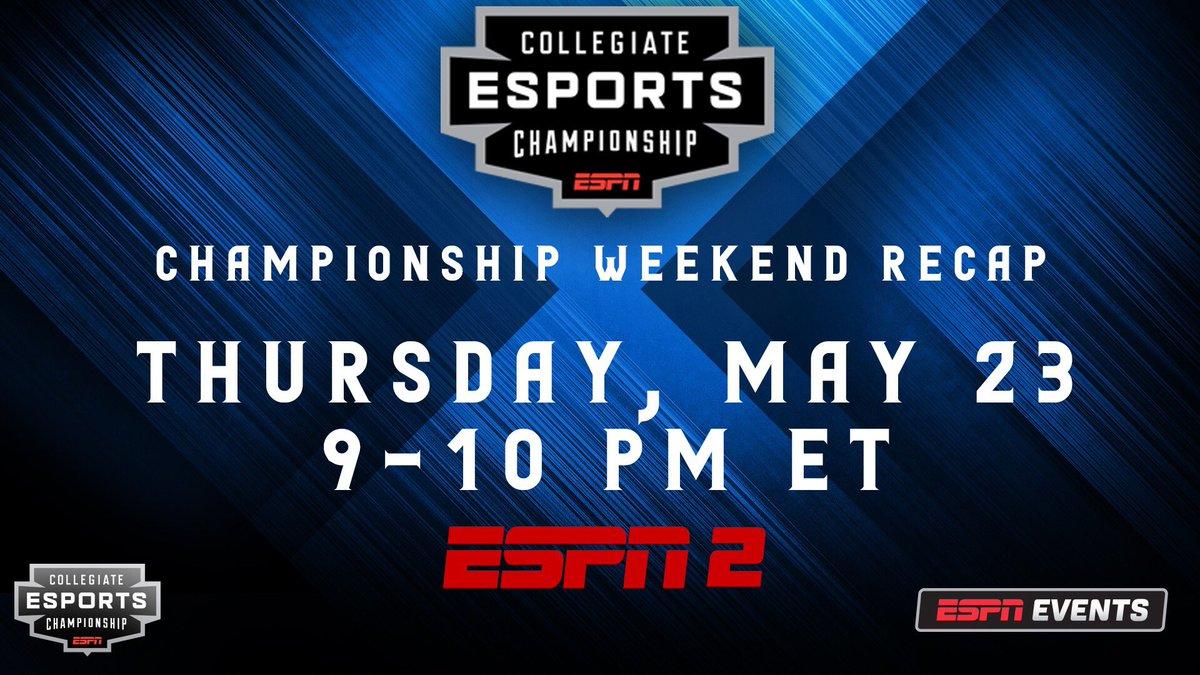 Collegiate Esports Championship (@CECESPN) | Twitter