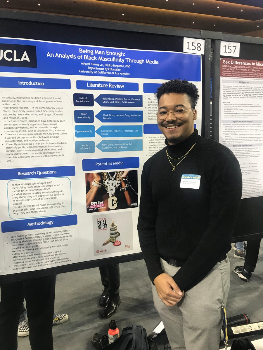 Check out our Af-Am students presenting their research at the UCLA Undergraduate Research Week! 🙌🙌