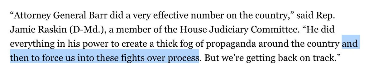 Democrats already crafting revisionist history of how the fight for the Mueller report started.  https://www. politico.com/story/2019/05/ 23/democrats-mueller-report-1342324 &nbsp; … <br>http://pic.twitter.com/uF5f8exOyh