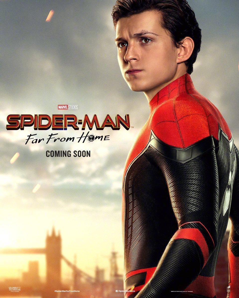 Spider-Man: Far From Home character posters