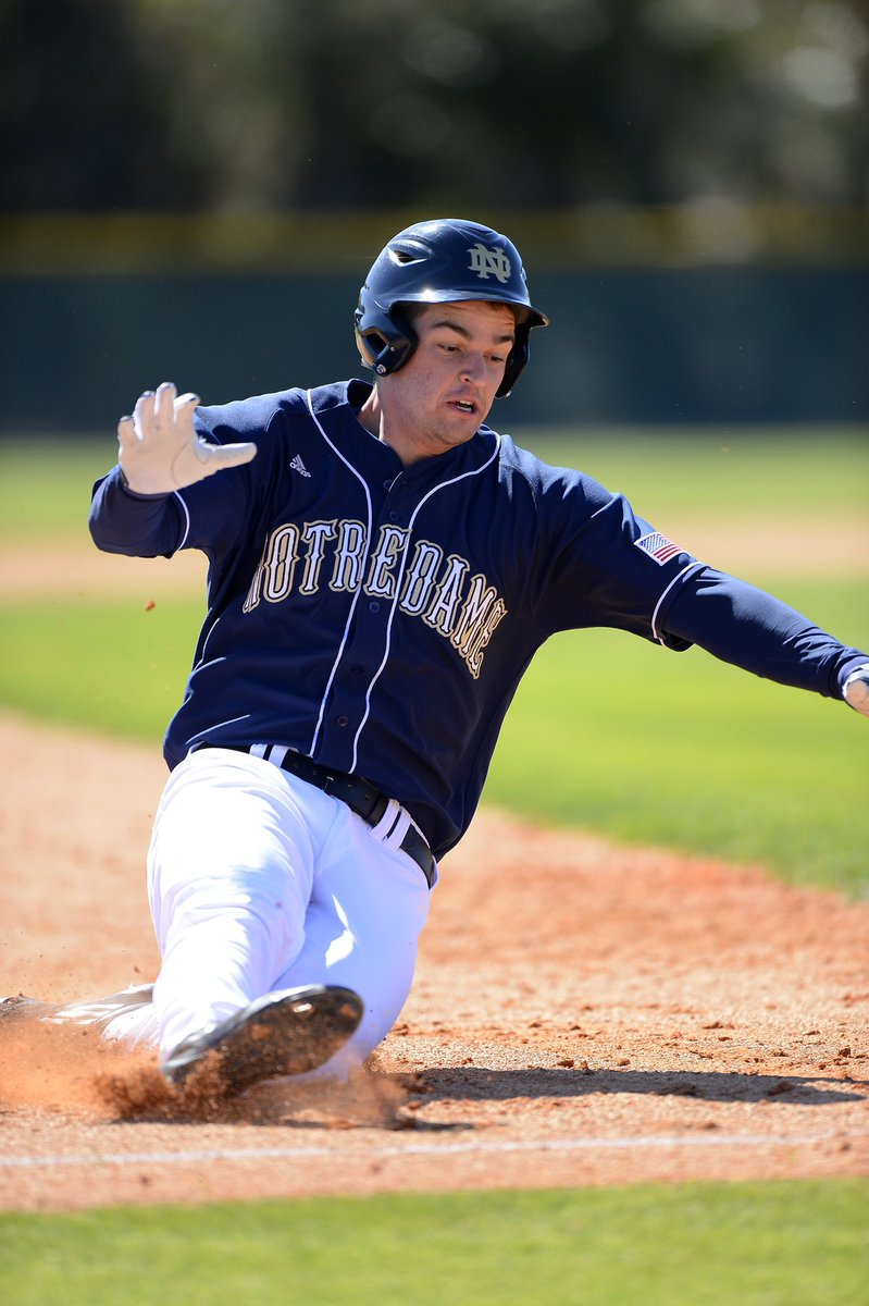 Trey Mancini combined freshman and sophomore stats at Notre Dame: batted .320, 21 dingers, 79 rbis, 80 runs, and 25 doubles <br>http://pic.twitter.com/xQFZnv3UC9