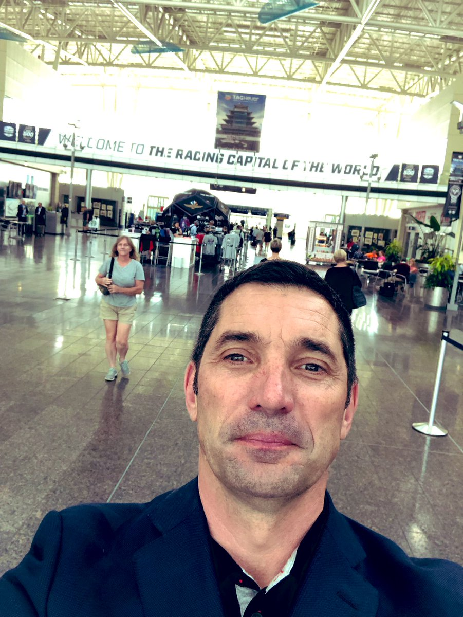 Arrived in holy Race City 4 #INDY500 ....as respect to my @IndyCar steward duty I will silence my own socials untill the show is over .... have a great racing week-end following us @IMS or @IndyCaronNBC