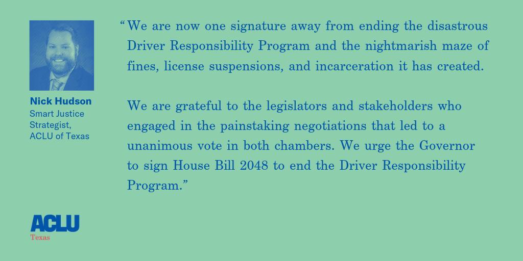 driver responsibility program texas ending