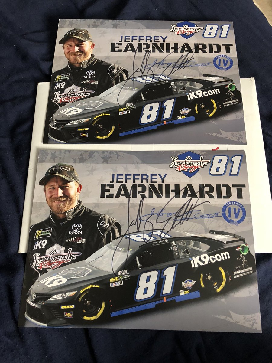 Let's get the giveaway going R/T to be eligible to win these @JEarnhardt1 Hero Cards I'll pick 2 winners during the #Coke600  #NASCAR<br>http://pic.twitter.com/ixiDVogzRH