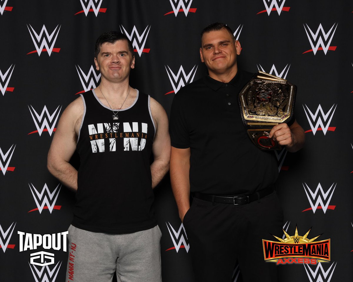 This was the only time @WalterAUT ever smiled. #NXTUK