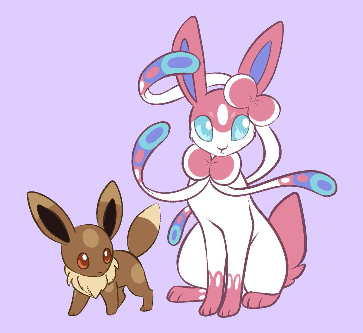 adopt design for @MapleandPie !! eevee/sylveon with umbreon traits!<br>http://pic.twitter.com/9YLl3dHuBz