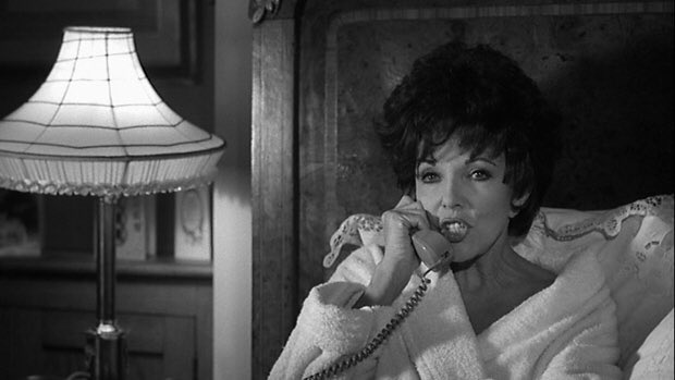 Happy birthday Joan Collins. She was fabulous in In the bleak midwinter, a film I remember fondly.