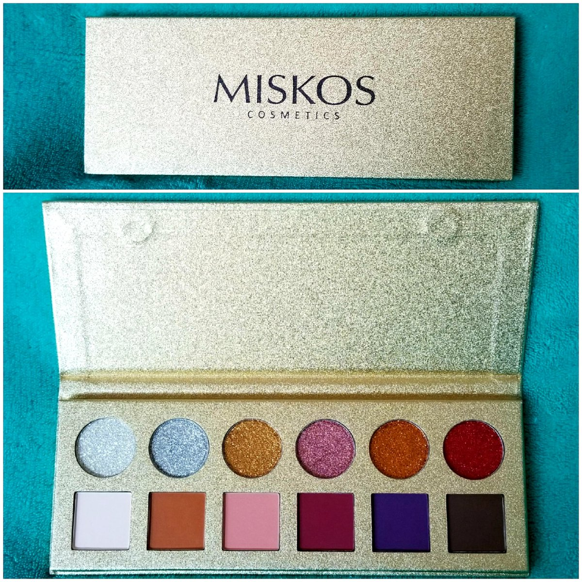 MISKOS 12 Colors Professional Eyeshadow Palette Set -6 glitter, 6 matte colors.  Great for everyday or use the glitter colors for a more glamorous look. Great eyeshadow kit. Order now and get 30% off using code: 412EYESHADOW https://t.co/ThBEs0eIGB #DiscountedForReview #MISKOS https://t.co/Yz6E1Cievi