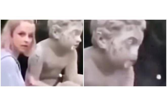 Modelo vandaliza estátua de 200 anos em busca de likes no Instagram https://buff.ly/2Es5nmw