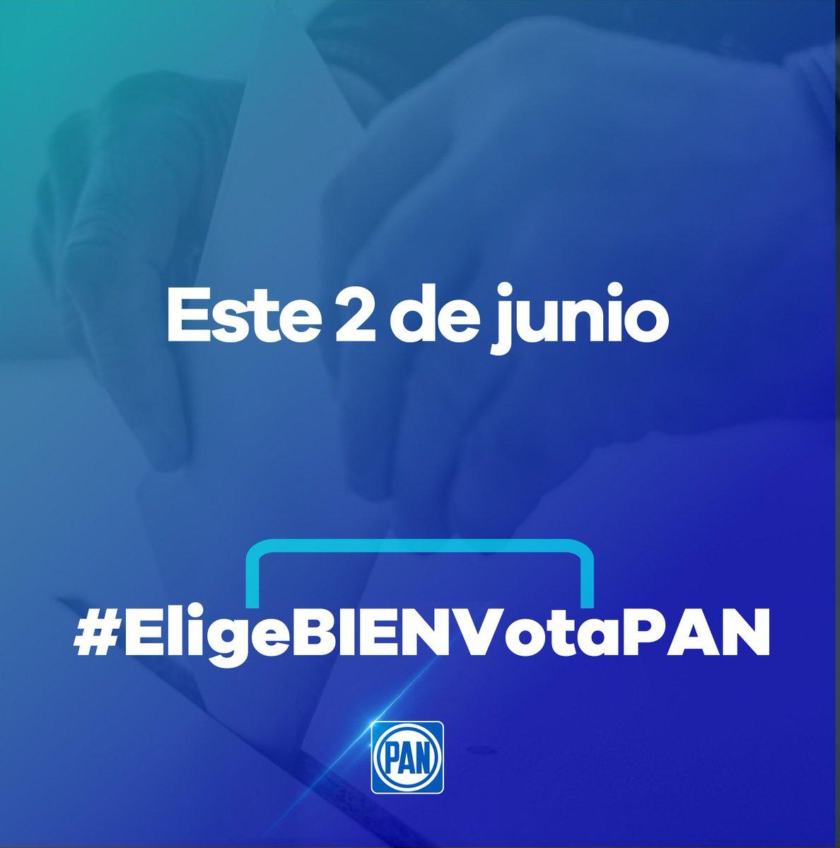 En #QuintanaRoo, los ciudadanos deben elegir entre un gobierno que ve al pasado con #Morena o ver hacia el futuro con @AccionNacional. Este 2 de junio #EligeBIENVotaPAN