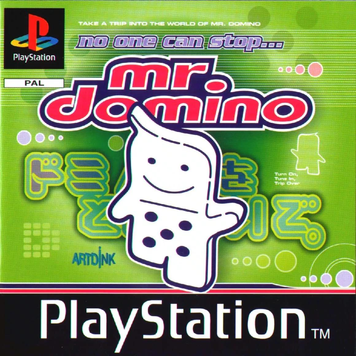 No One Can Stop Mr. Domino (1998) PlayStation 1, PAL Box Art <br>http://pic.twitter.com/2uAKmhccYR