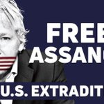 Let's spread the message - we will not stand for the US Extradition of Julian #Assange. Wear your support and use code 1984 on https://t.co/ZLIvzFw3zh for 19% off your order - valid until June 12th. @wikileaks  https://t.co/S76TsGxrAy