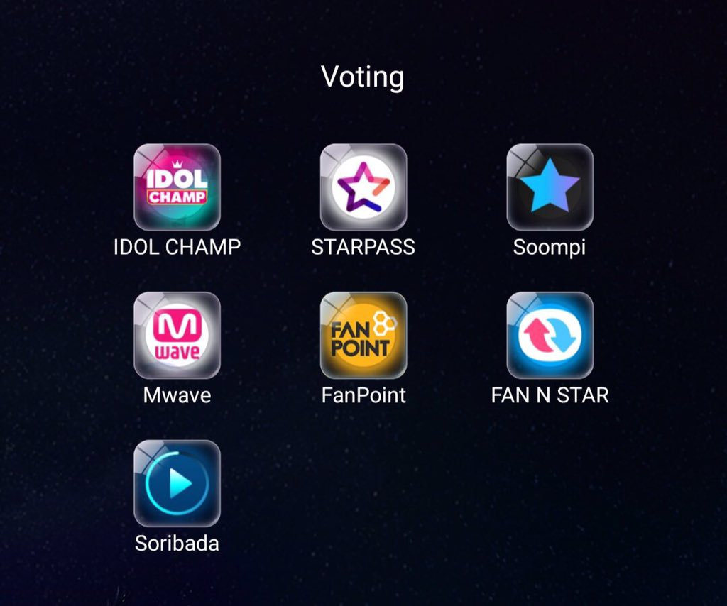 Apps you need to vote for TXT! They really want to win ROTY so let's help them achieve their dream!!    RT to save a life @TXT_members #TXT #TOMORROW_X_TOGETHER <br>http://pic.twitter.com/ovnZmyONsi