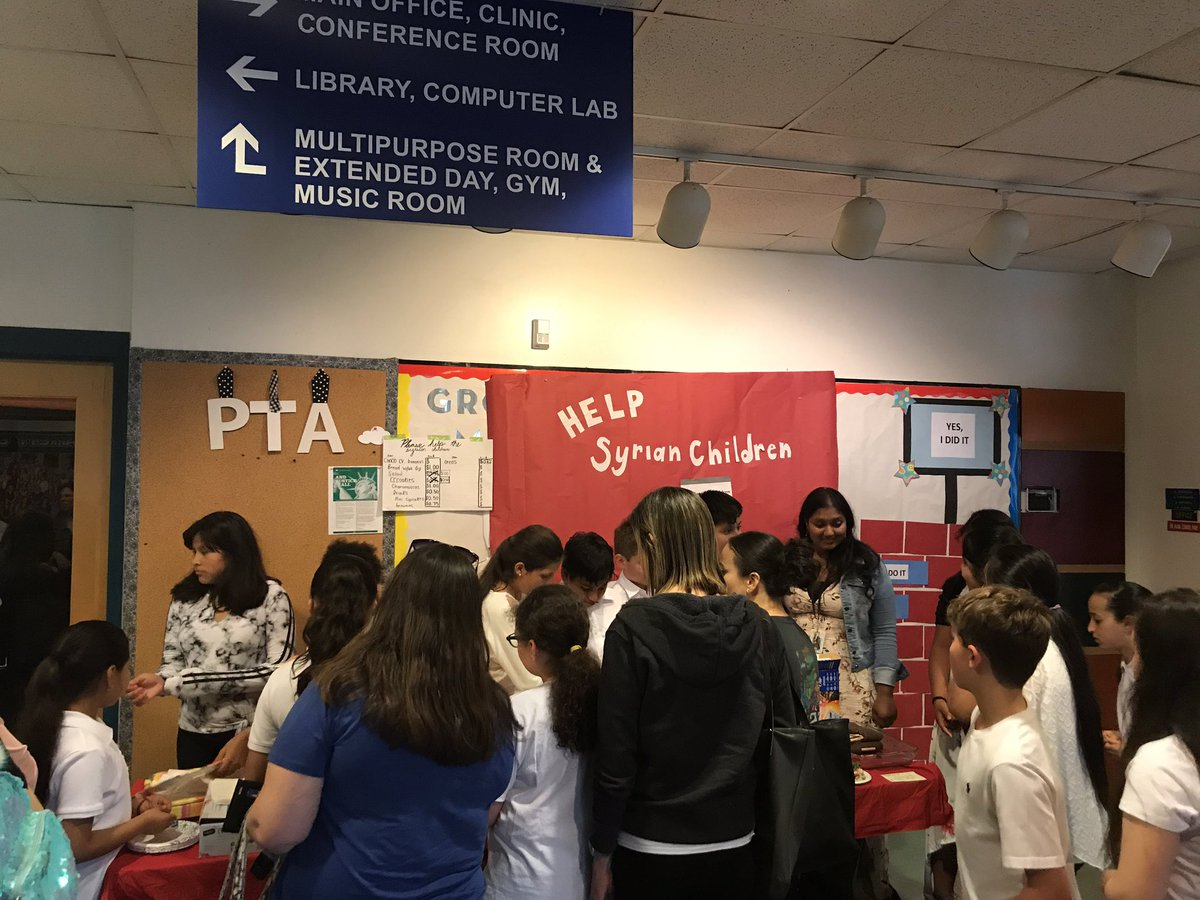 Fifth graders raise awareness and funds for Syrian children. <a target='_blank' href='http://search.twitter.com/search?q=KWBPride'><a target='_blank' href='https://twitter.com/hashtag/KWBPride?src=hash'>#KWBPride</a></a> <a target='_blank' href='https://t.co/6DfsnHZPXN'>https://t.co/6DfsnHZPXN</a>