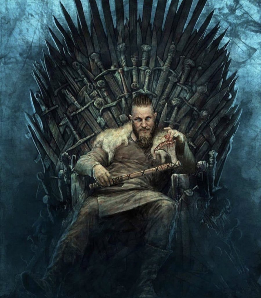 I've watched Vikings. I've watched GoT. Ragnar is incomparable to any character in game of thrones.  Ragnar would of sat on the iron throne latest by season 2.  Ragnar the king of Scandinavia 💪🏽