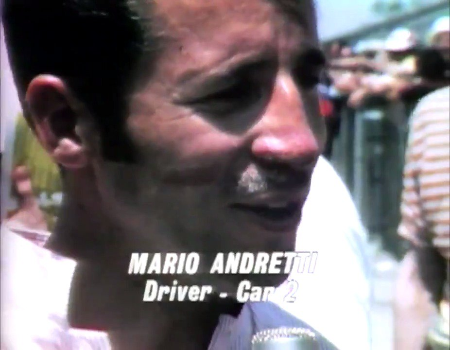 In honor of @FirestoneTires #LegendsDay on Saturday, watch the full 1969 #Indy500 Race Film LIVE tonight at 9 PM ET on our Facebook page! What is your favorite @MarioAndretti moment from @IMS? 🎥: bit.ly/2JZDqq4 #ThisIsMay | @IndyCar