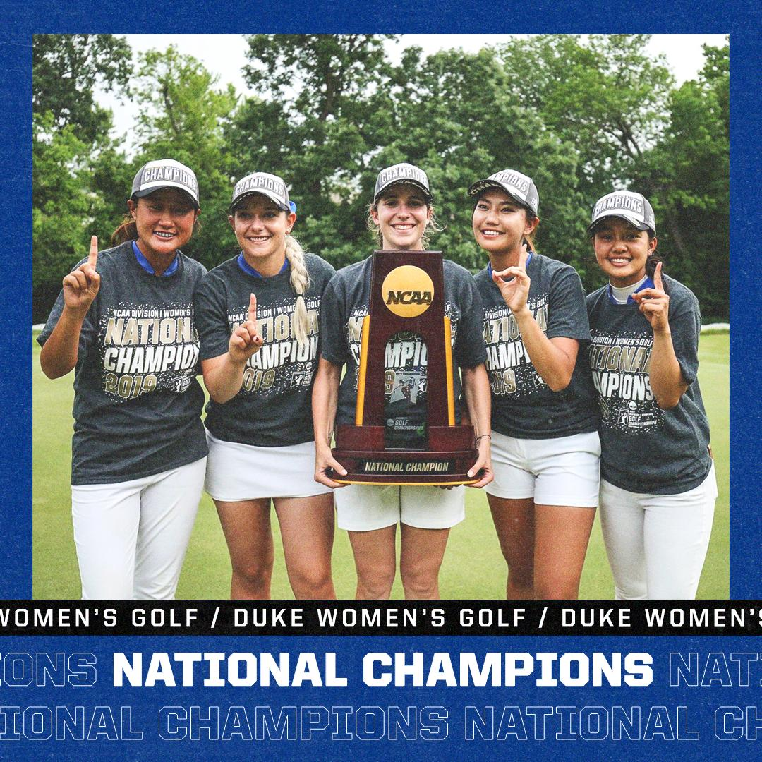 🏆🏆🏆🏆🏆🏆🏆  Make that SEVEN titles for @DukeWGOLF 👏
