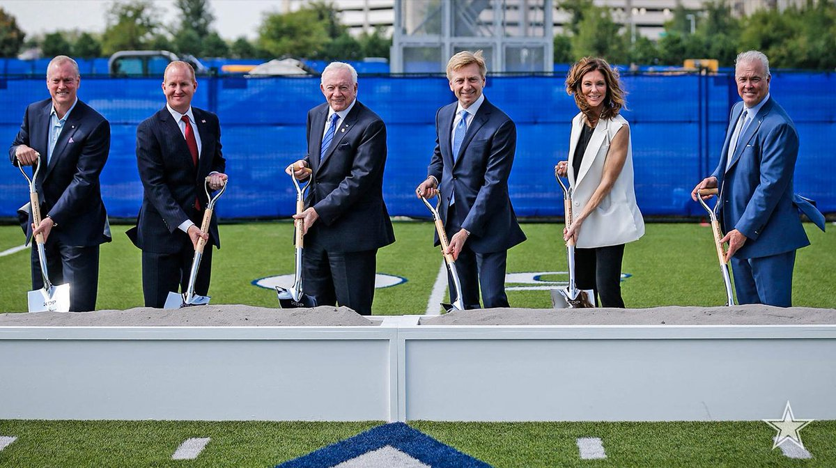 Big things keep taking shape at @thestarinfrisco, where the #DallasCowboys helped break ground on a new national headquarters for Keurig Dr Pepper.  📰 http://bit.ly/2JDuC9U