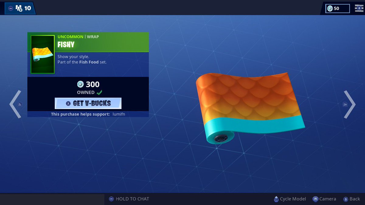this wrap is so cool, BLUE &amp; ORANGE ARE THE BEST! i used code lumifn #fortnite #NintendoSwitch<br>http://pic.twitter.com/9qOg2gh60q