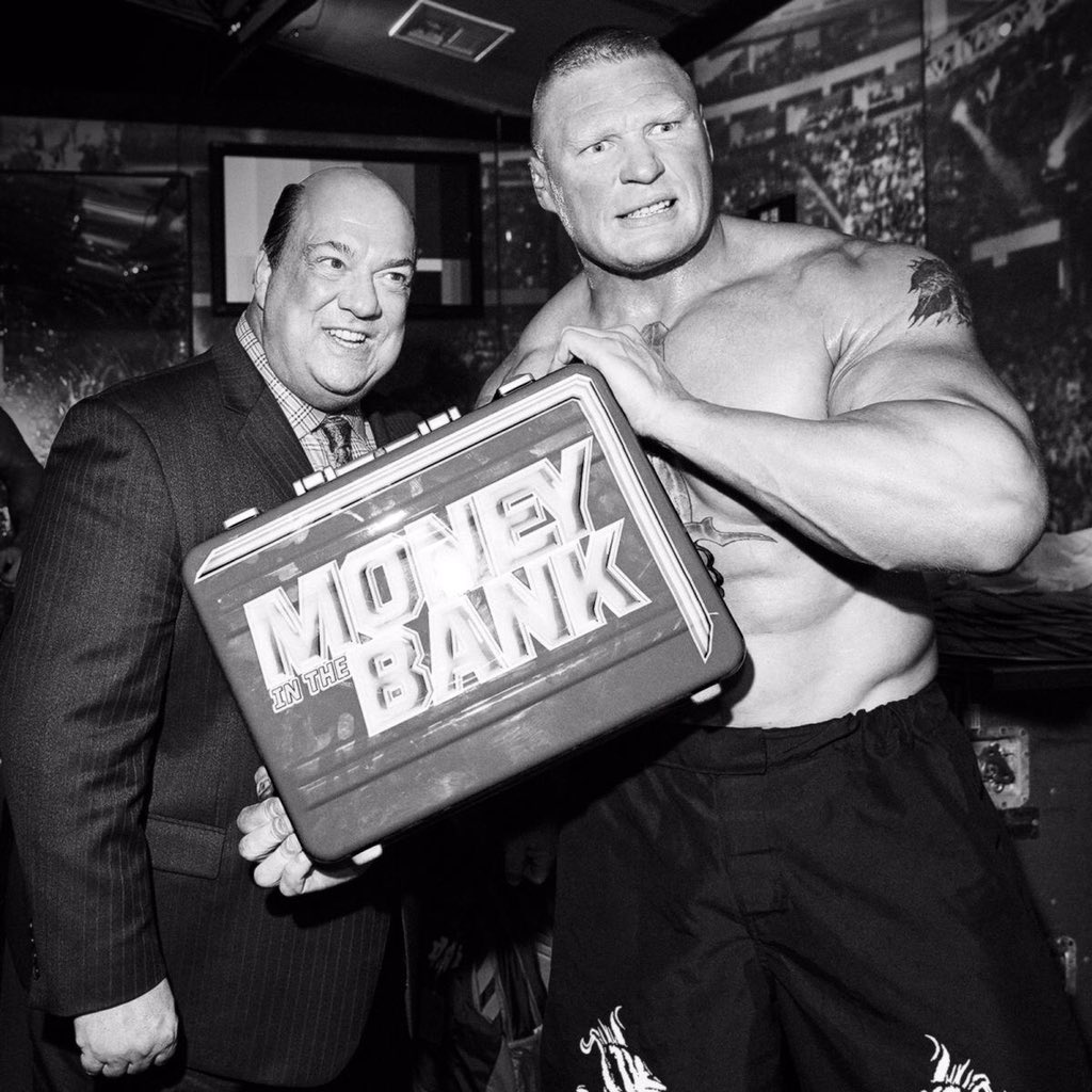 Memo to @WWERollins and / or @TrueKofi (or perhaps even @HEELZiggler): Good Evening Gentlemen. My client and I have been considering all options. Here's the one thing that's absolutely positively GUARANTEED: @BrockLesnar is in control. That's not a prediction. That's a spoiler!