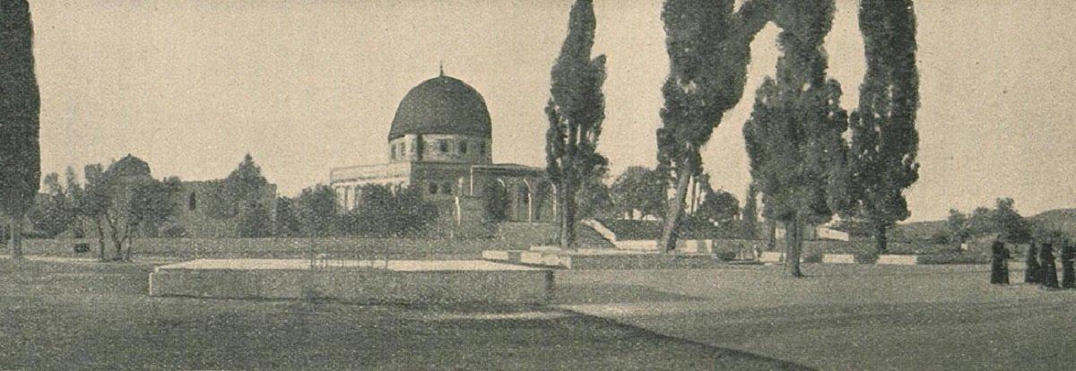 القدس, فلسطين, عام 1900م