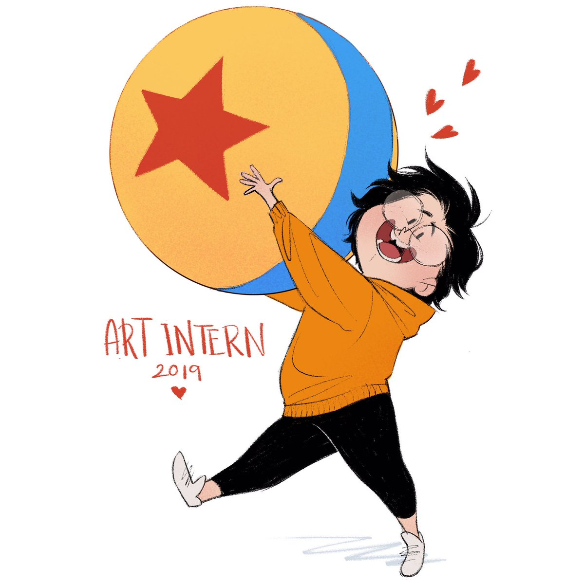 Recieved some surprising news today! I'm gonna be a Pixar Art intern for the summer!!! <br>http://pic.twitter.com/fLlVHFzGpR
