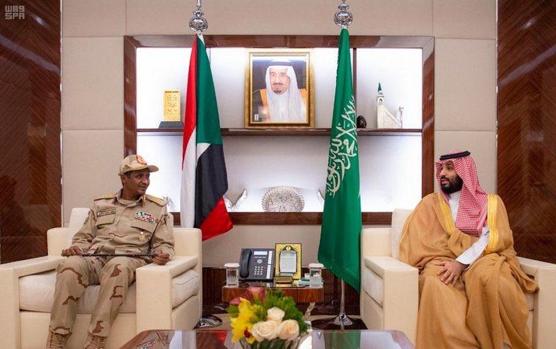 #ولي_العهد يلتقي نائب رئيس المجلس الانتقالي السوداني. https://sabq.org/hX8bMR