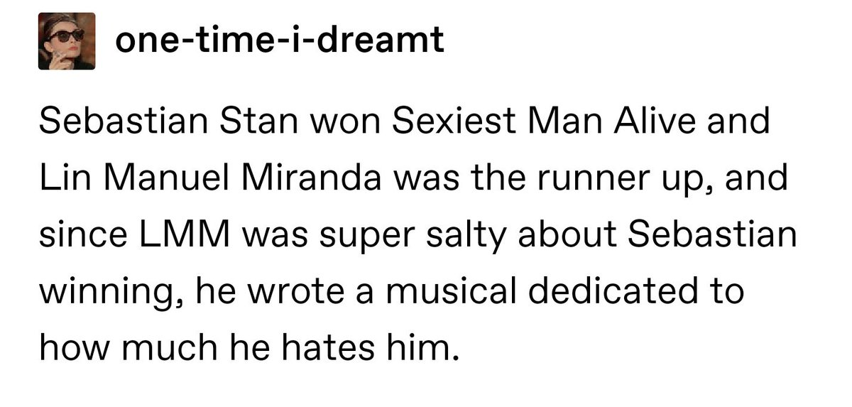 there&#39;s a tumblr blog where people post about their dreams and these dreams that people had about @Lin_Manuel are WILD<br>http://pic.twitter.com/jbQLwC0SVU