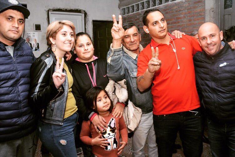 Visitamos familias de Barrio San Miguel, Presidente Perón y estuvimos en la inauguración de una nueva agrupación en la zona norte de la ciudad #MadrynAlFrente #SabemosCómoHacerlo