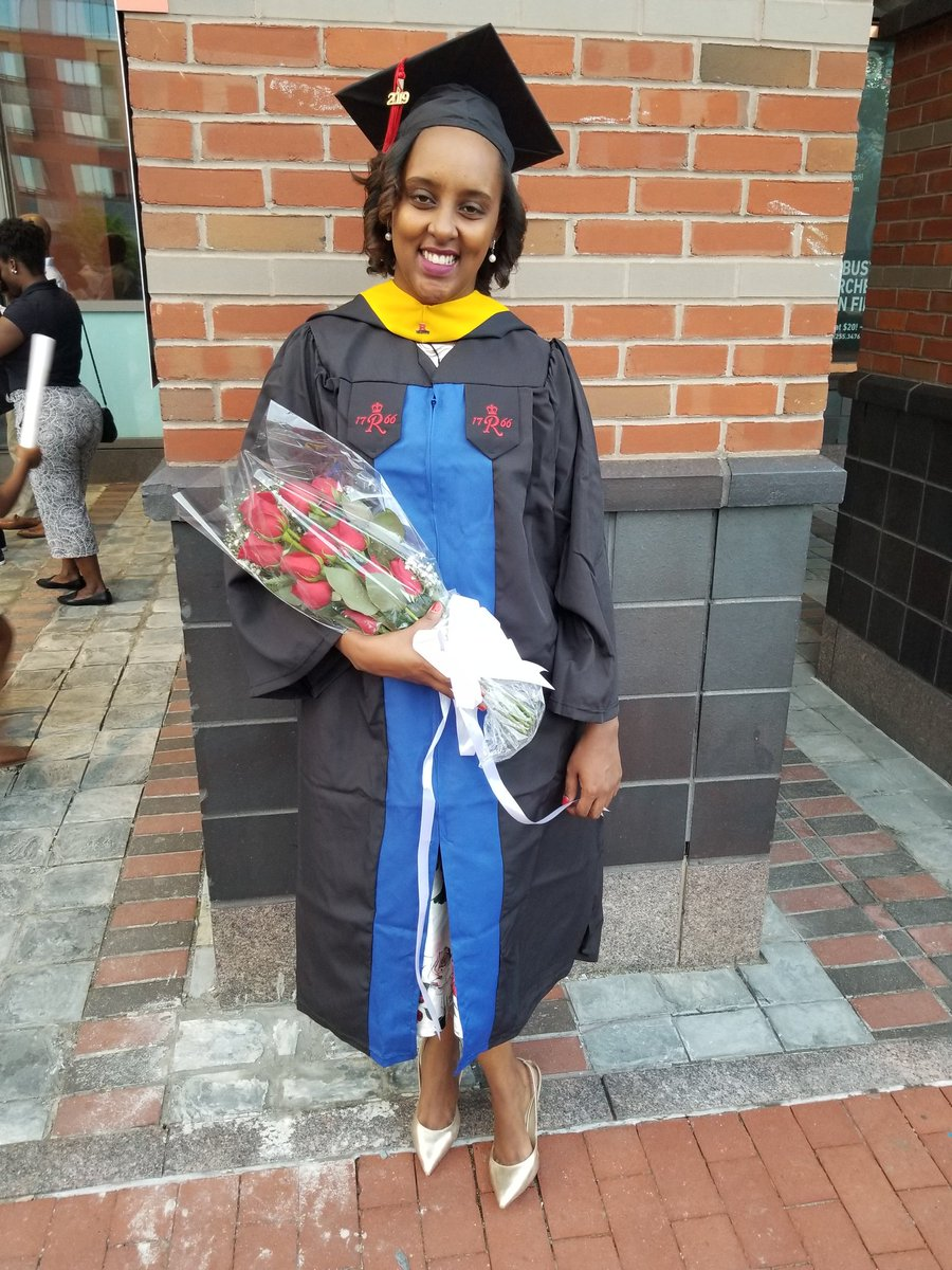 Please help me congratulate my wife for getting not one but two degrees this week. J and I couldn&#39;t be any prouder of you. You did it honey!!! This on top of work, being a mother, and all the uncertainty these past two years...ibyiza birimbere<br>http://pic.twitter.com/zW9oAzLkKX