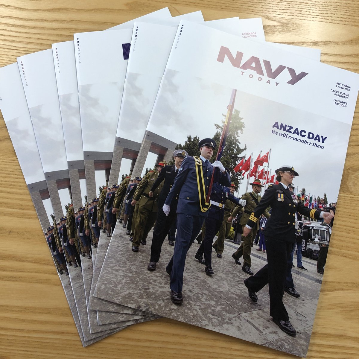 READ    Hot off the press, here's this month's Navy Today. Read about HMNZ Ships Otago and Wellington sharing fisheries patrols, check out Aotearoas launch in Korea, our best selection of Anzac Day images and more! MORE: bit.ly/navytoday232 #NZNavy