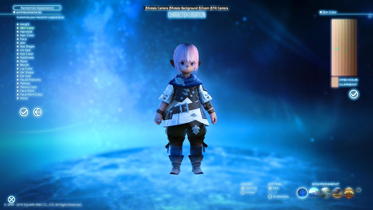 Espresso Lalafell @ Shadowbringers Hype Train on Twitter