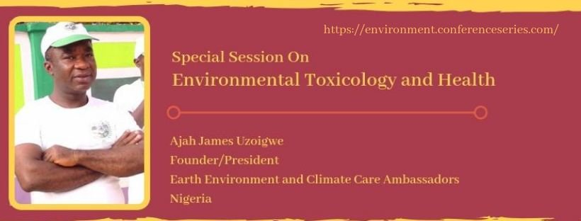 Environmental Toxicology Congress 2019 June 10-11  Osaka, Japan Contact: environmentalhealthmeet@asia-meetings.com #environment #pollution #health #climatechange #toxicology #wastemanagement #recycling #publicawareness
