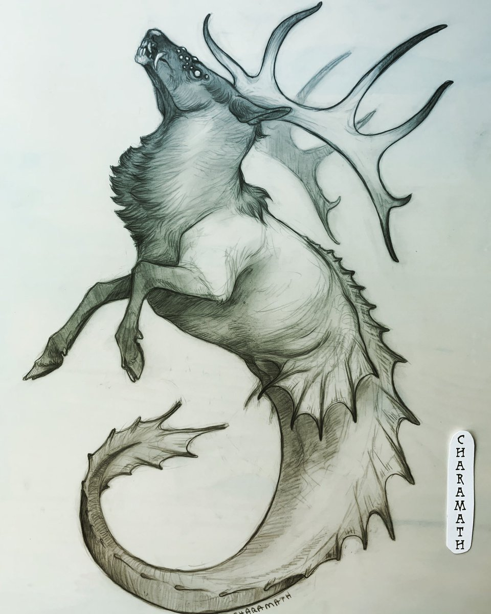 Today's #mythicmay / #mermay the Paiyuk from the Ute People mythology <br>http://pic.twitter.com/j9msmXPGFC
