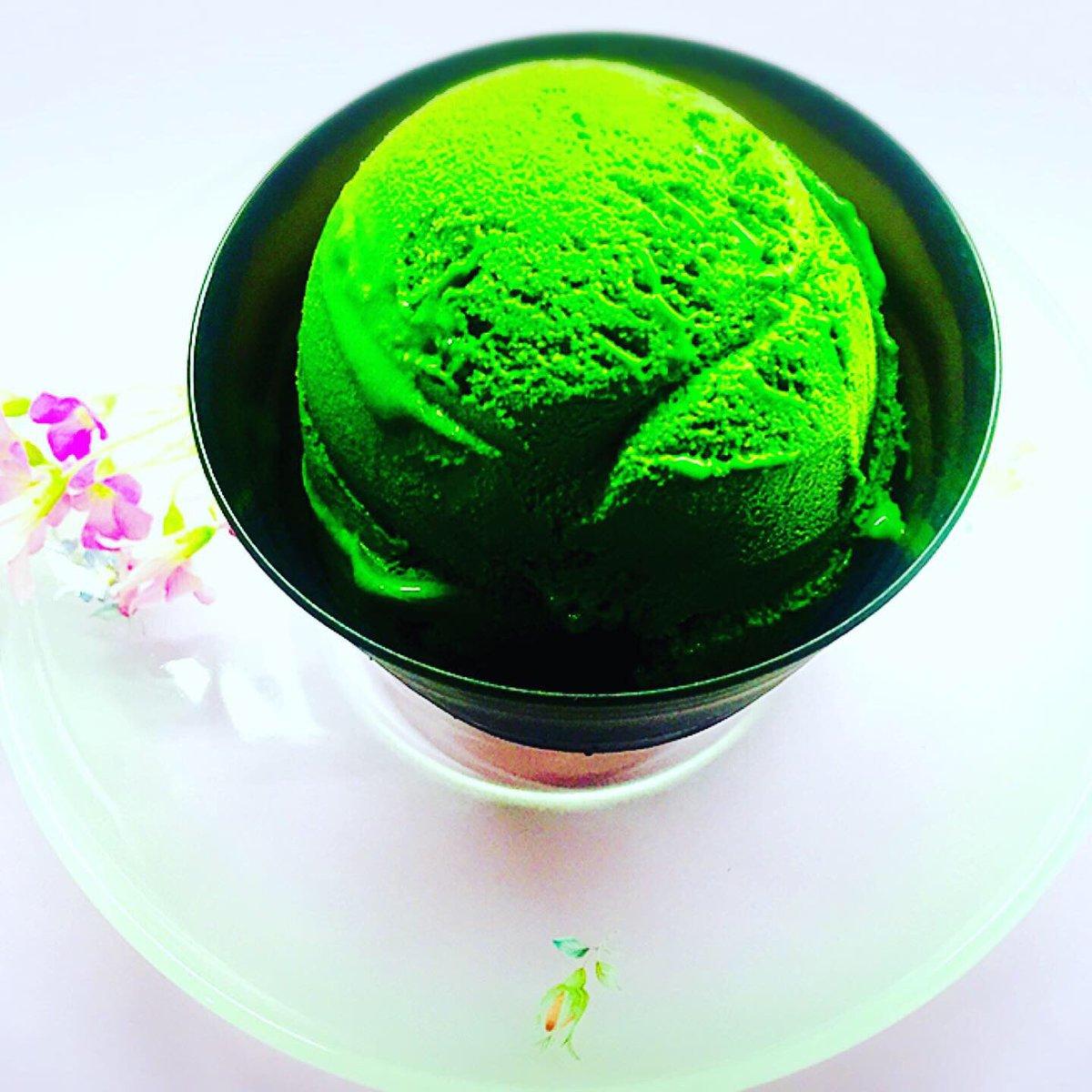 世界一濃い抹茶のジェラート ご用意しております! #ななや #ななや京都三条店  #世界一濃い抹茶ジェラート