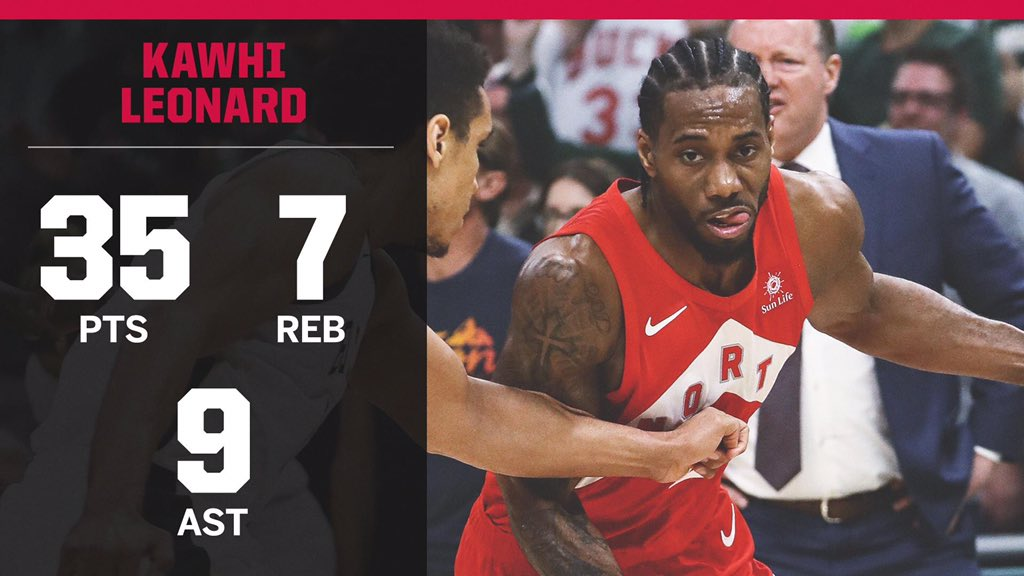 The Raptors are ONE WIN away from their first ever #NBAFinals!<br>http://pic.twitter.com/uyvXobBh5A