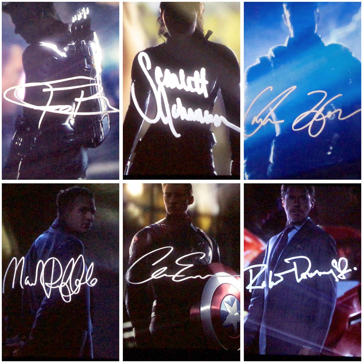 Handwriting is unique to every single person. Everyone has their own SIGNATURE #AvengersEndgame #signature #DontSpoilTheEndgame